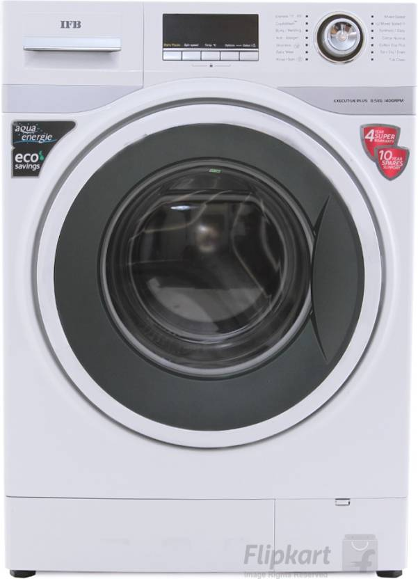IFB 8.5 kg Fully Automatic Front Load Washing Machine with In built Heater White Executive Plus VX